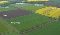 Centre for Sustainable Cropping Platform is based at Balruddery Farm